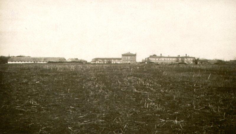 Общий вид больницы с юга