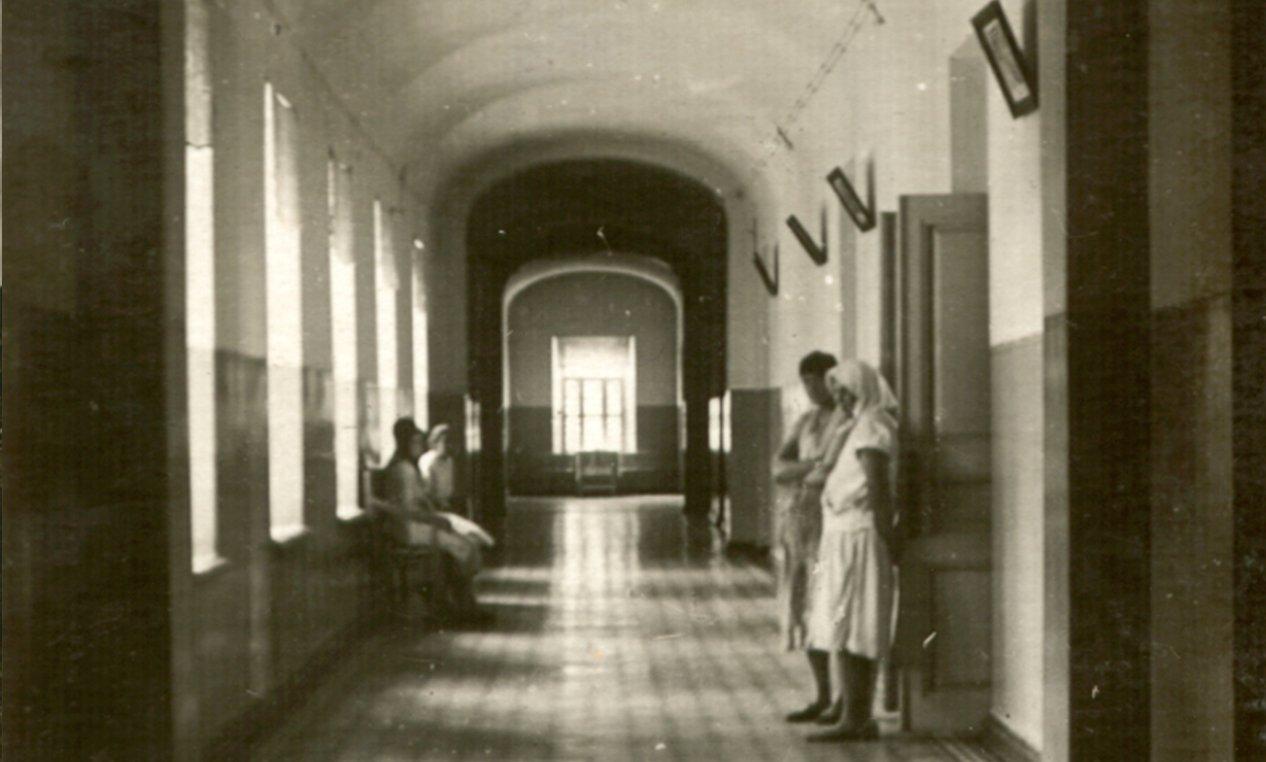 коридор женского отделения