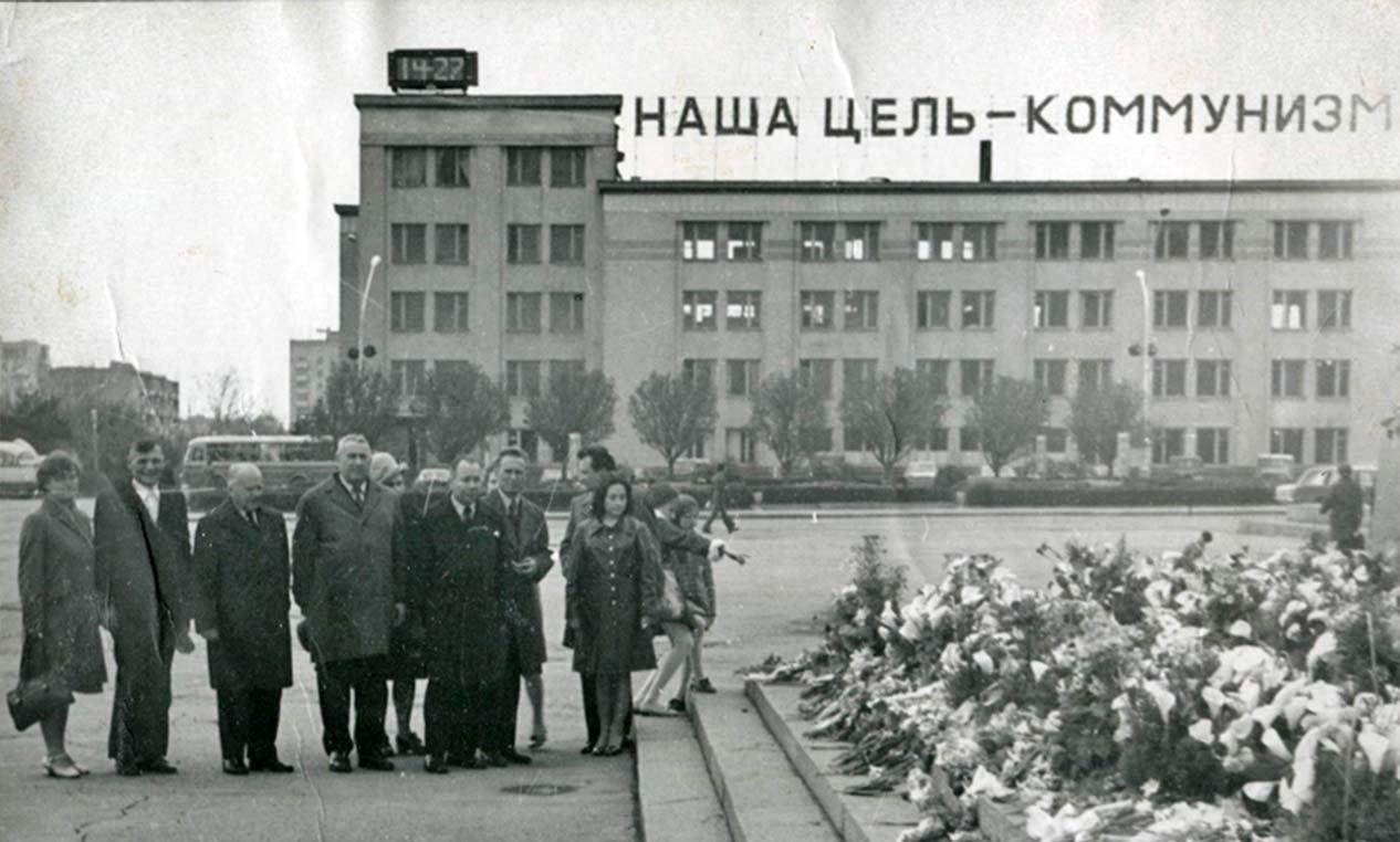 сотрудники больницы 1960-е