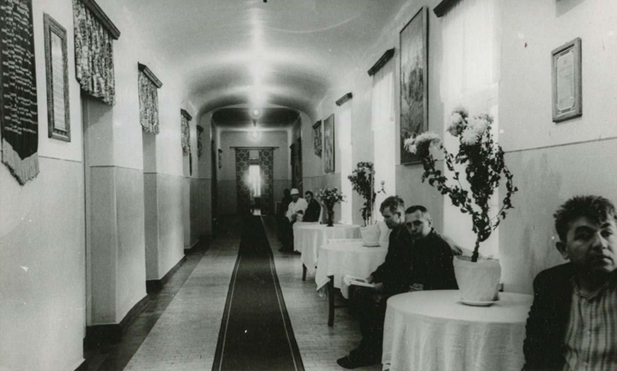 больничный коридор 1960-е