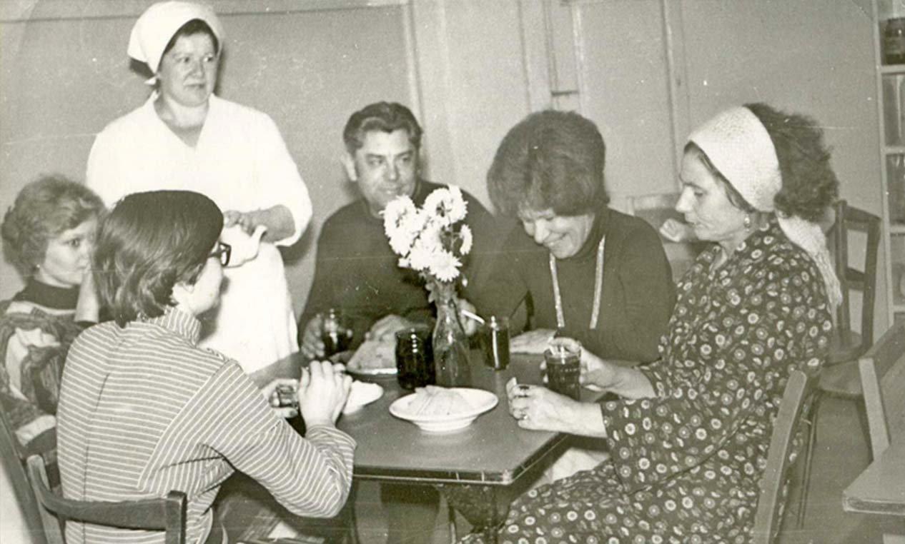 столовая 1960-е