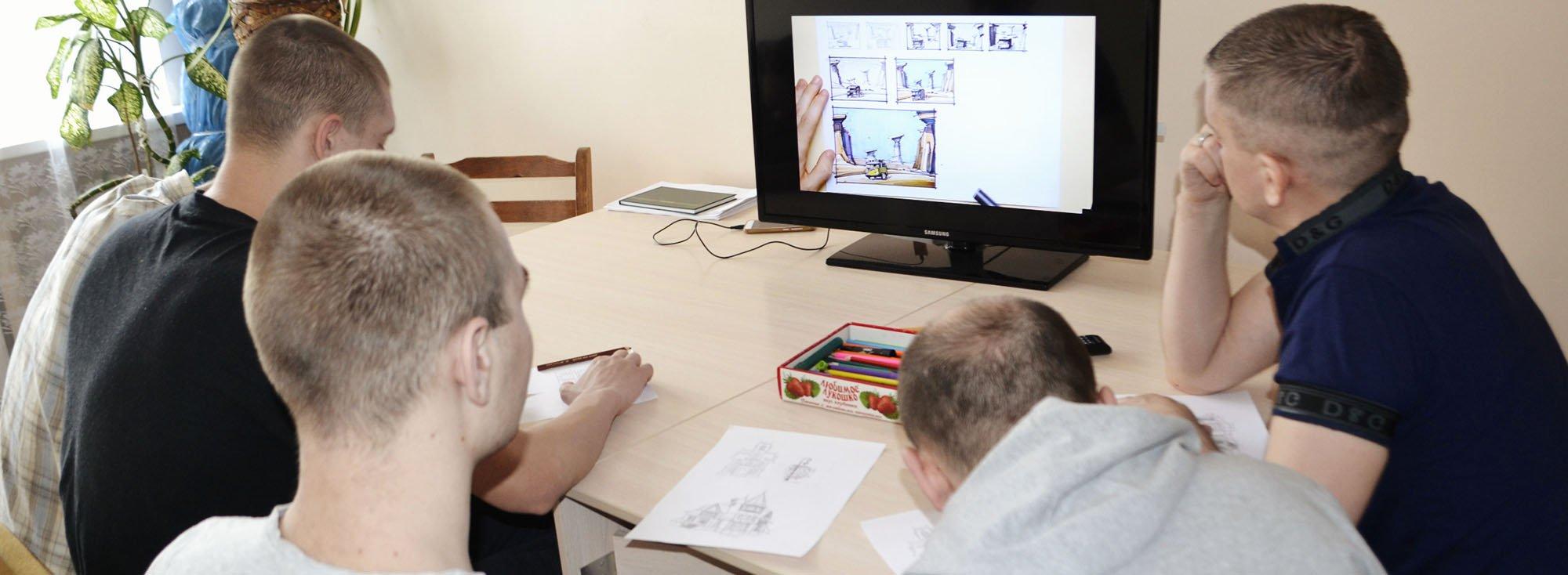 Пациенты 16 отделения открыли новое направление в творчестве – скетчинг