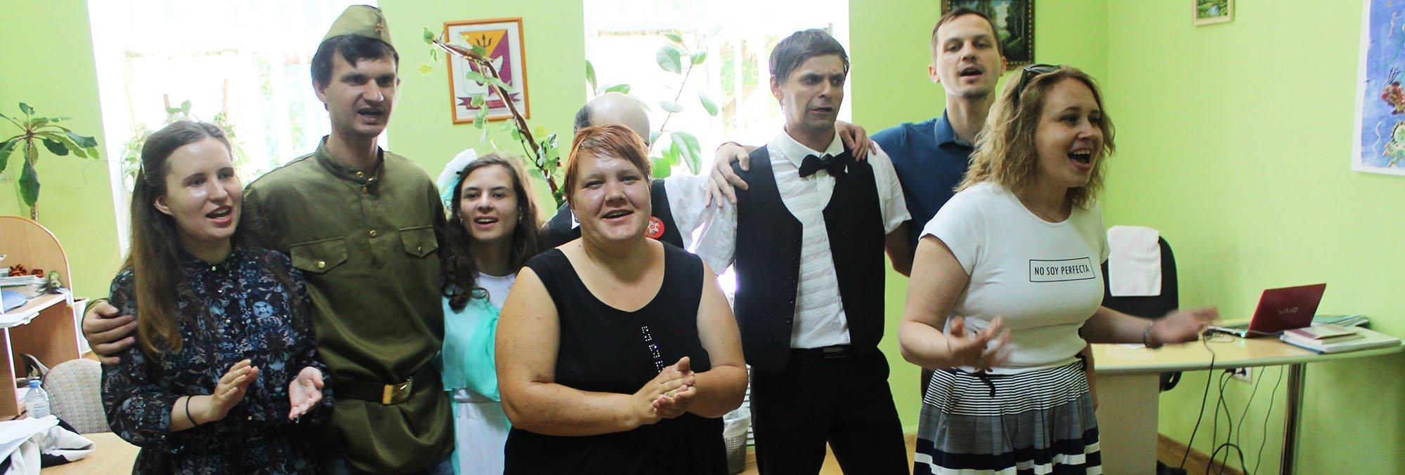 Творческая студия «Зазеркалье» дала концерты в 1 мужском и 14 женском отделениях