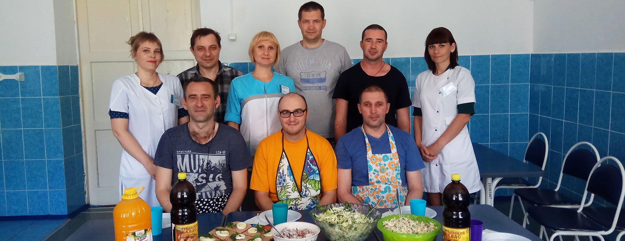 Кулинарный мастер-класс провели в 9 отделении