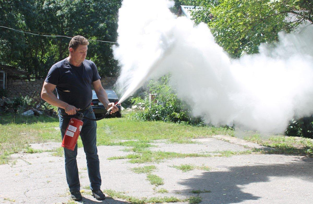 Пожарно-тактические учения в больнице