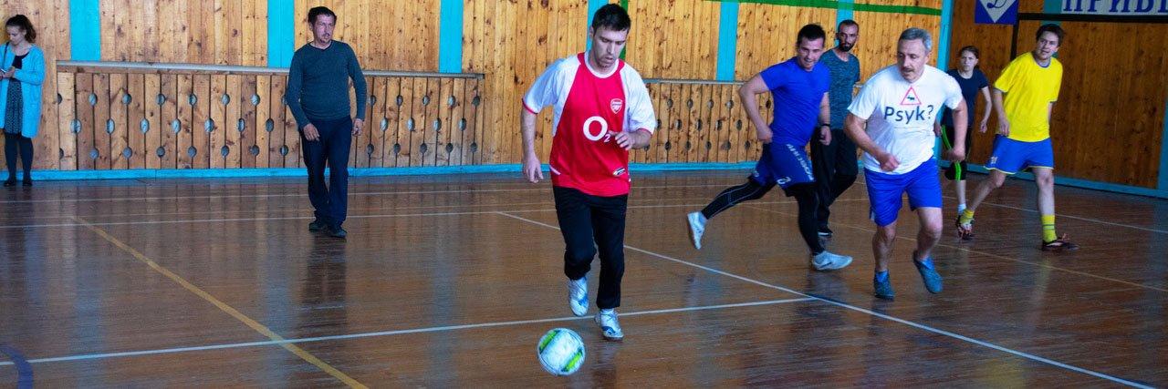 Пациенты Ставропольской психиатрической больницы приняли участие в футбольном турнире
