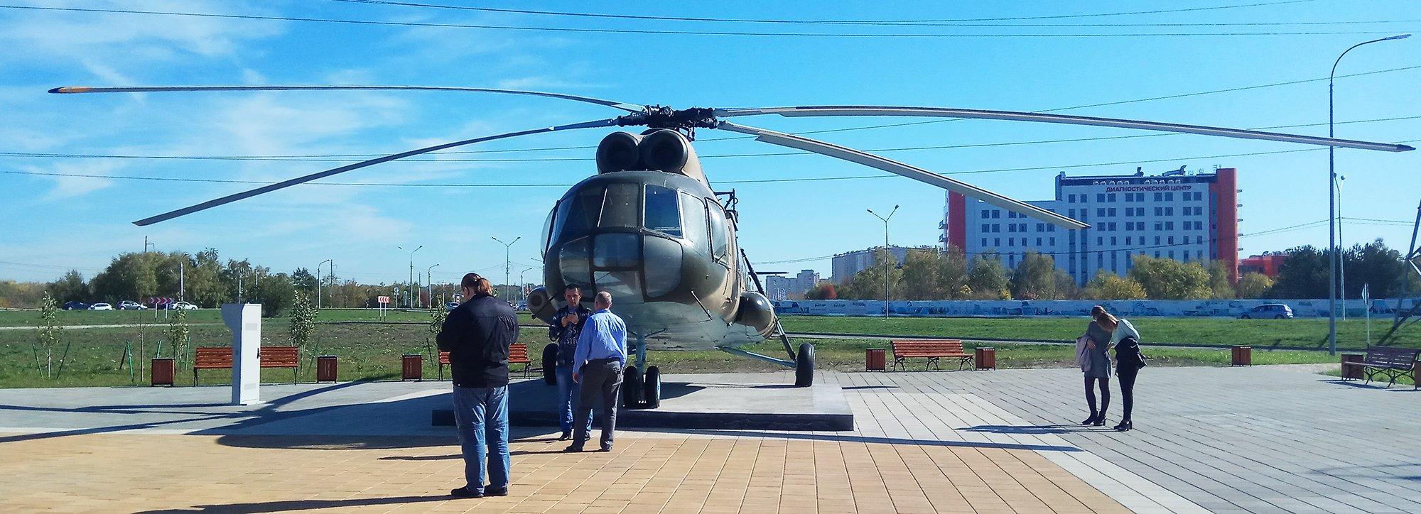 Пациенты Ставропольской психбольницы посмотрели на военную технику в парке «Патриот»