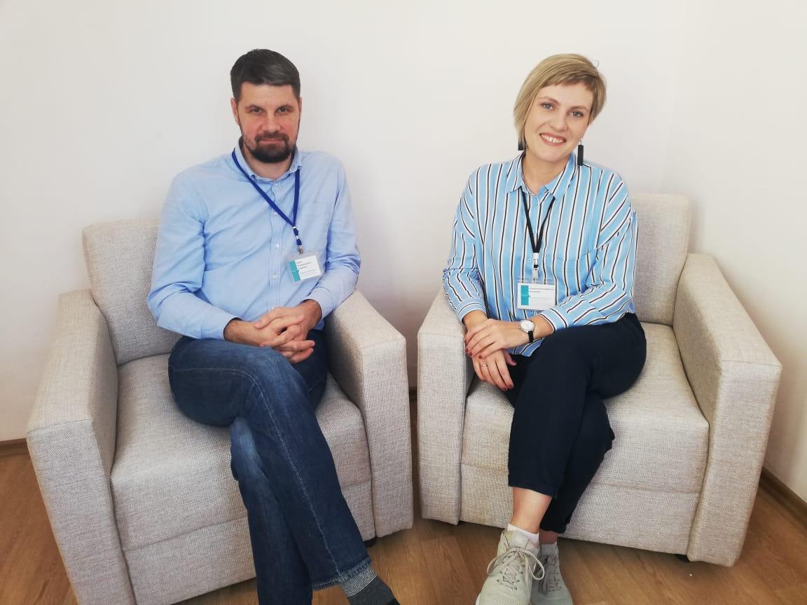 Медицинские психологи Елена Калинина и Денис Севрюгин